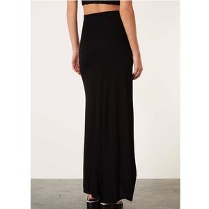 Victoria's Secret Black Maxi Skirt